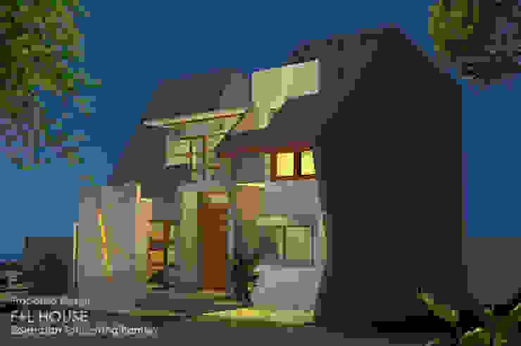 Eksterior Fasade Spandex Oleh Alfaiz Design