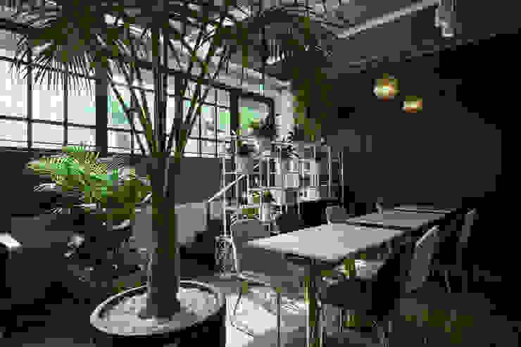 Gastronomía de estilo moderno de designforn Moderno Mármol