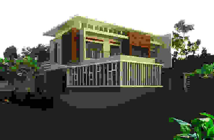 facade design Oleh daun architect