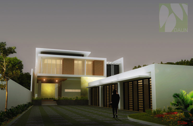 facade design Oleh daun architect