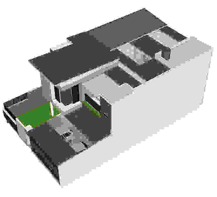 rumah di pasir jaya Oleh daun architect Modern