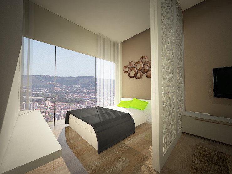 kamar tidur Oleh daun architect