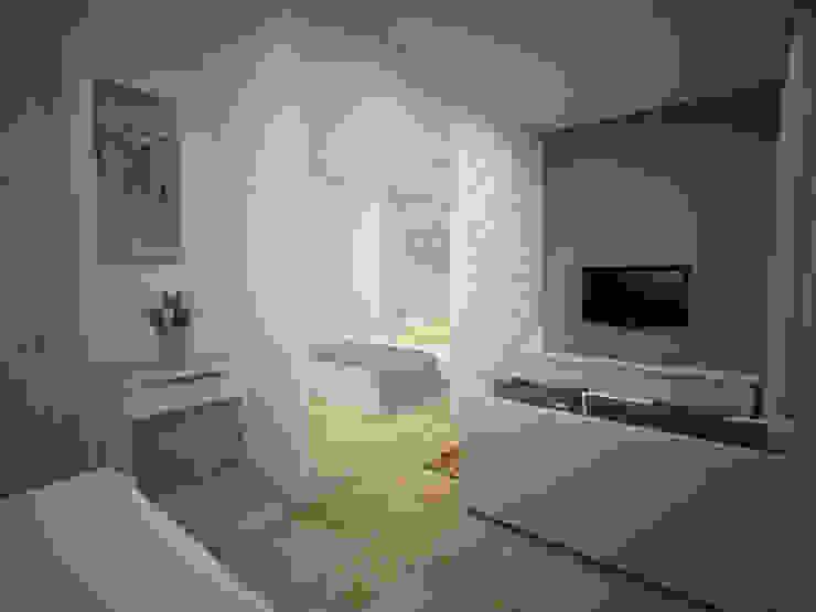 ruang duduk Oleh daun architect