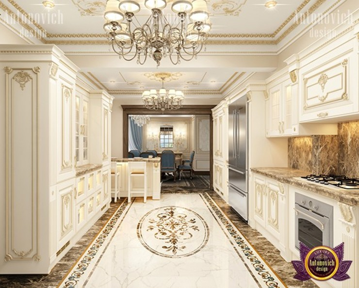 Delicate Interior Design Features for your Kitchen by Luxury Antonovich Design