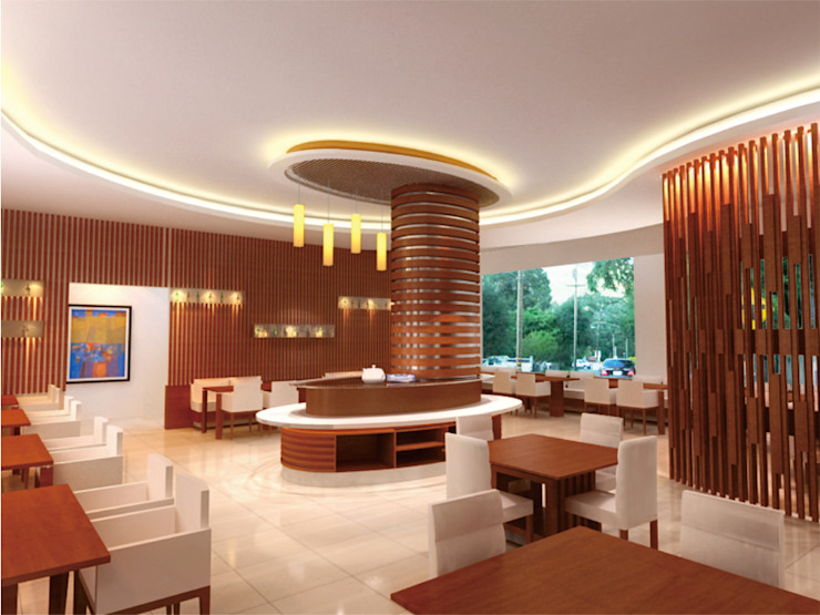 dining room in concept daun architect Dining roomLighting