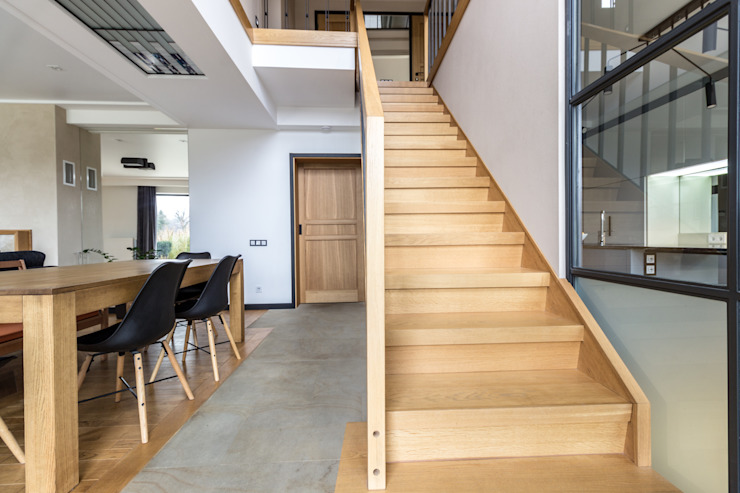 A country house project in Loft style by Studio architecture and design LAD.Студия архитектуры и дизайна ЛАД . Industrial