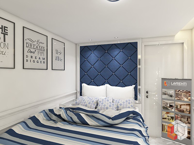 Apartemen Kelapa Gading Kamar Tidur Modern Oleh Lavrenti Smart Interior Modern