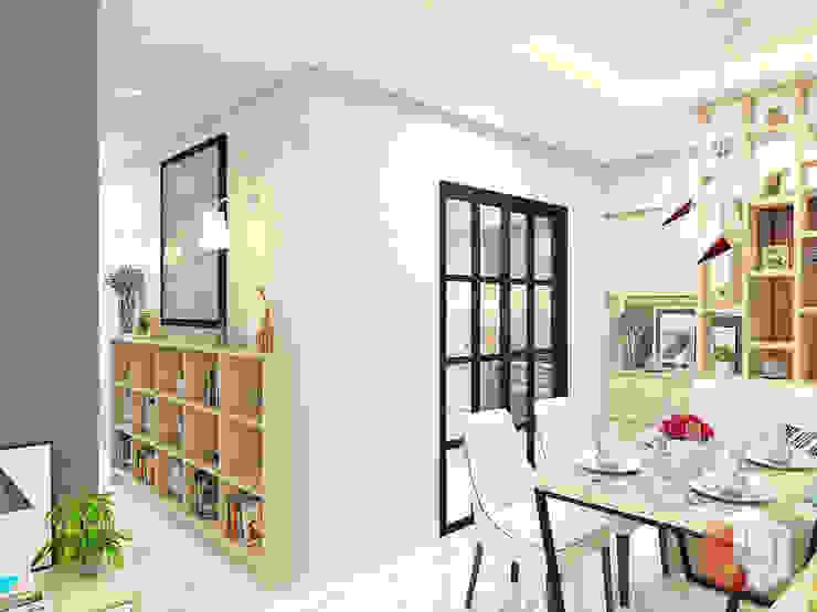 Apartemen Harmoni Ruang Makan Minimalis Oleh Lavrenti Smart Interior Minimalis