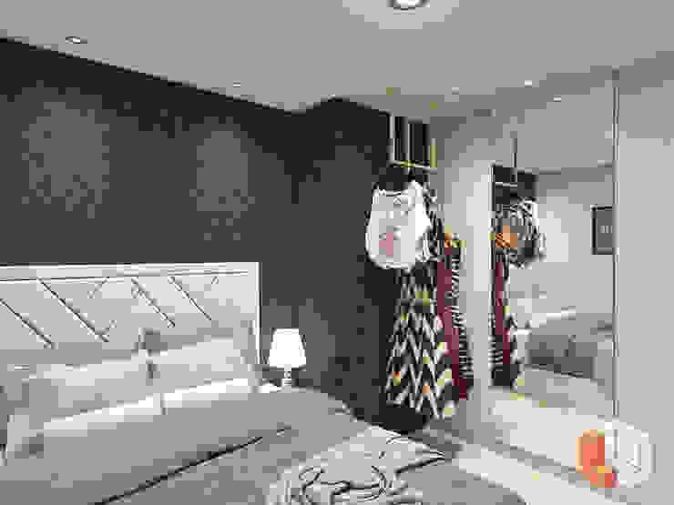 Apartemen Pasar Baru Kamar Tidur Modern Oleh Lavrenti Smart Interior Modern