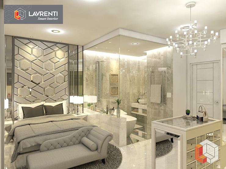 Apartemen Serpong:modern  oleh Lavrenti Smart Interior, Modern
