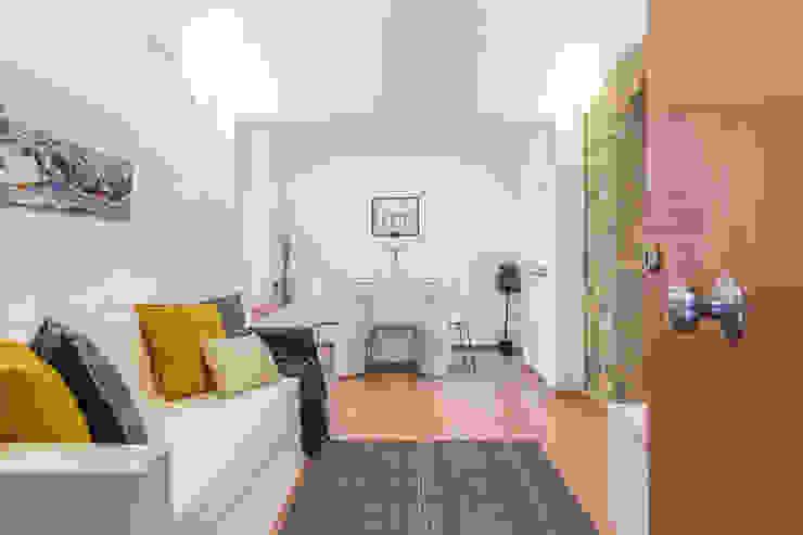 Salón después Salones de estilo mediterráneo de Impuls Home Staging en Barcelona Mediterráneo