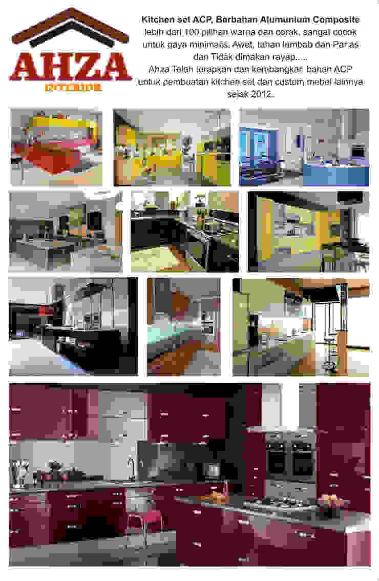 ahza kitchen set Oleh ahza Minimalis Aluminium/Seng