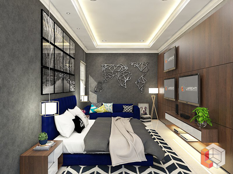 Minimalist bedroom by Lavrenti Smart Interior Minimalist
