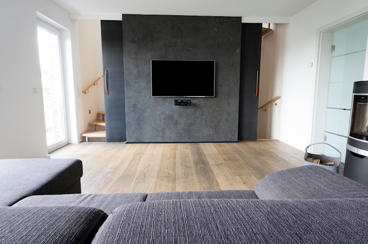 Living room by hysenbergh GmbH | Raumkonzepte Duesseldorf