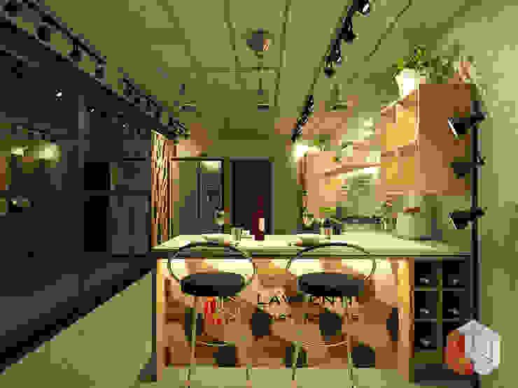 Residensial Kelapa Gading Ruang Makan Minimalis Oleh Lavrenti Smart Interior Minimalis