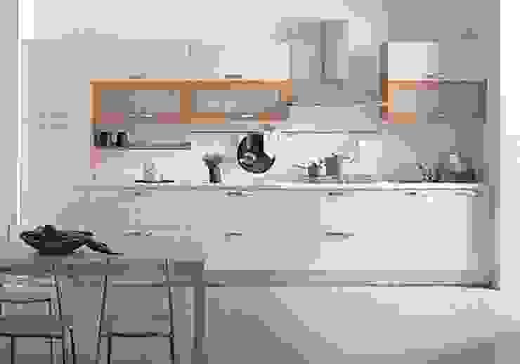 ahza kitchen Oleh ahza Minimalis Aluminium/Seng