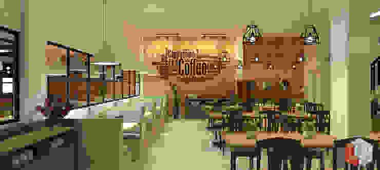 Restoran Bekasi Gastronomi Gaya Industrial Oleh Lavrenti Smart Interior Industrial