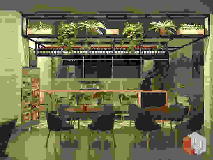 Restoran Bungur Gastronomi Gaya Rustic Oleh Lavrenti Smart Interior Rustic
