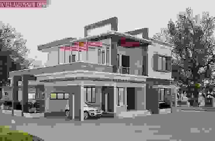 Attractive modern contemporary home designs Scale And Pencil