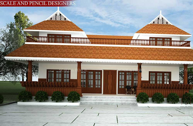 Kerala home designs Scale And Pencil