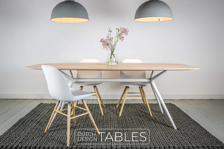 scandinavian  by Dutch Design Tables, Scandinavian Wood Wood effect