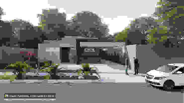 Casas de estilo minimalista de Luciana Hoffmann Minimalista