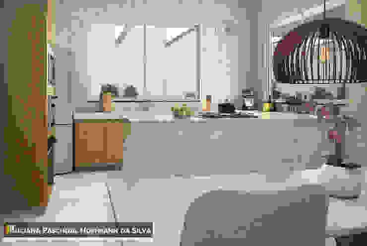 Cocinas de estilo minimalista de Luciana Hoffmann Minimalista