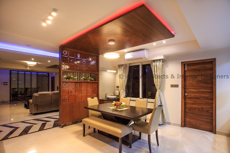 Modern dining room by ARK Architects & Interior Designers Modern