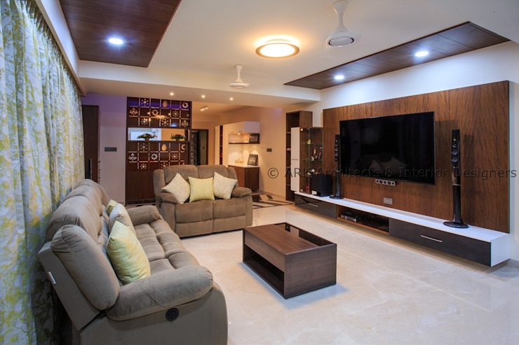 Modern living room by ARK Architects & Interior Designers Modern