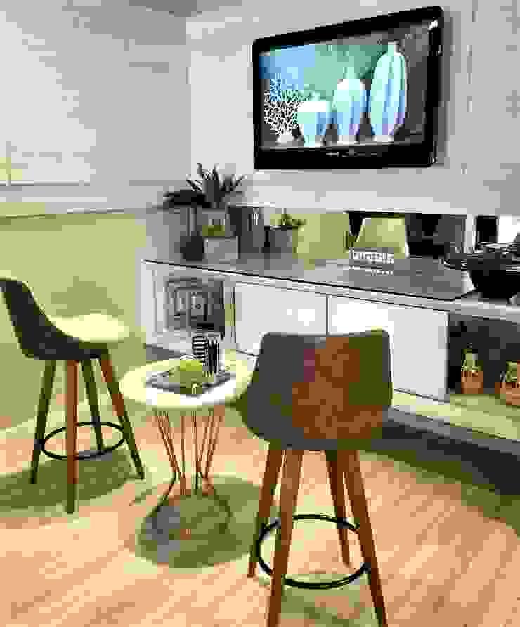 Sgabello Interiores Modern living room MDF Wood effect