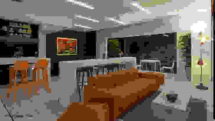 Proyecto arquitectonico arquitecto9.com Salones modernos