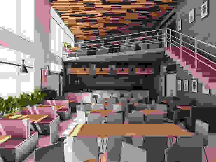 CAFETERIA UPT – TACNA de TECTONICA STUDIO SAC Moderno