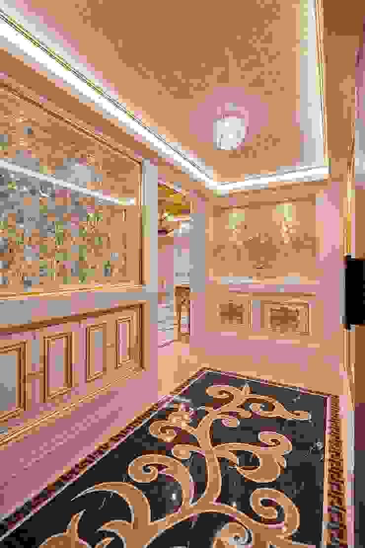 令人驚訝的玄關: 經典  by 歐式藝廊法式新古典設計, 古典風 塑木複合材料