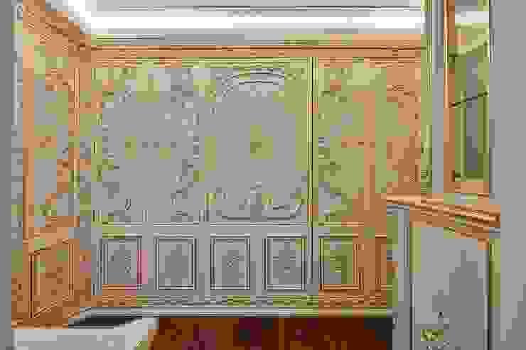 法式古典櫃體門片: 經典  by 歐式藝廊法式新古典設計, 古典風 塑木複合材料