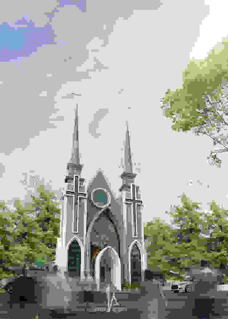 Gereja GMIM - Tondano Oleh Hanry_Architect