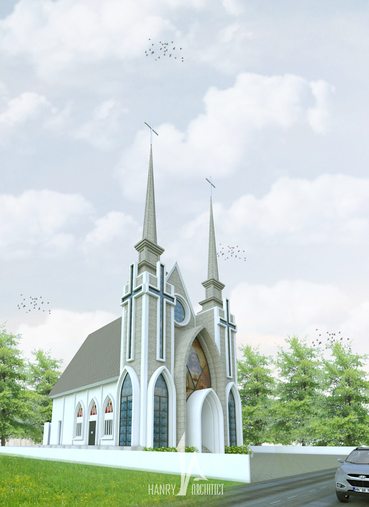 Gereja GMIM – Tondano Oleh Hanry_Architect