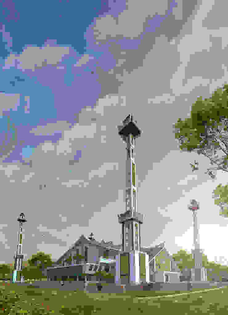 Masjid Raya - Gorontalo Oleh Hanry_Architect