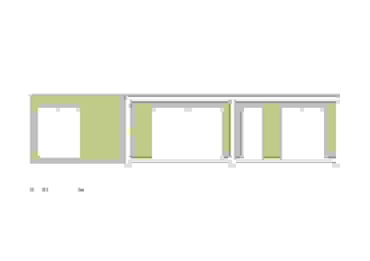 Bungalow Wood Alcobaça - Alçado por goodmood - Soluções de Habitação Moderno