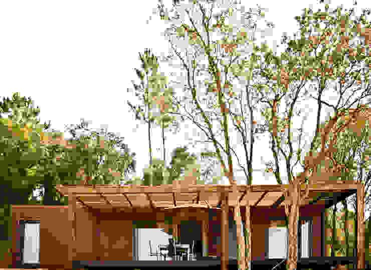 Bungalow Wood Alcobaça - Exterior - 1 por goodmood - Soluções de Habitação Moderno