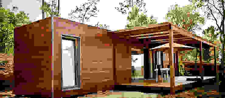 Bungalow Wood Alcobaça - Exterior - 5 por goodmood - Soluções de Habitação Moderno