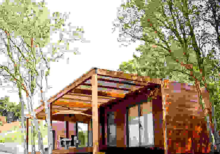 Bungalow Wood Alcobaça - Exterior - 2 por goodmood - Soluções de Habitação Moderno