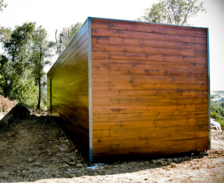 Bungalow Wood Alcobaça - Exterior - 4 por goodmood - Soluções de Habitação Moderno