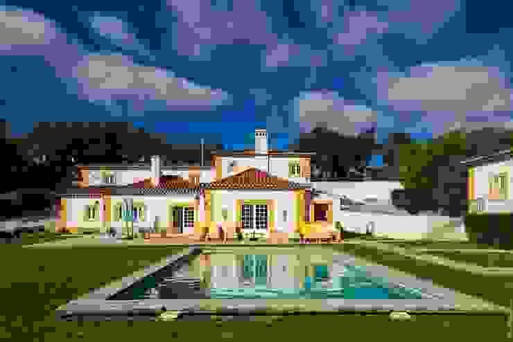 projeto de decoração de um alojamento local em Sintra – Quinta do Pé Descalço Officina Boarotto Piscinas rústicas