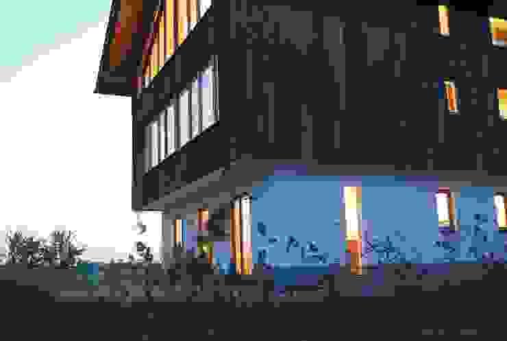 Gliederung des Baukörpers:  Häuser von WSM ARCHITEKTEN,