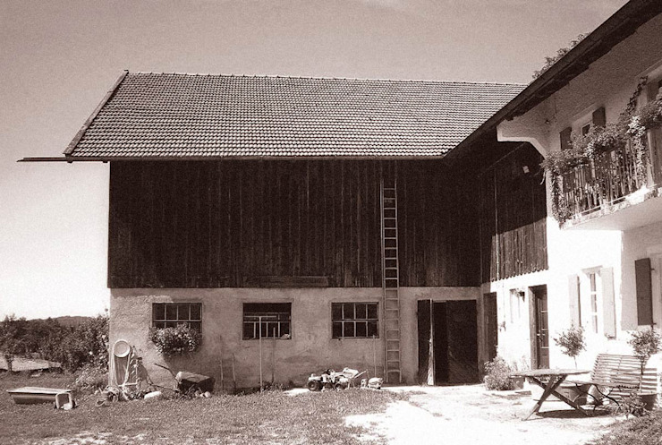 Alter Bauernhof:  Häuser von WSM ARCHITEKTEN,