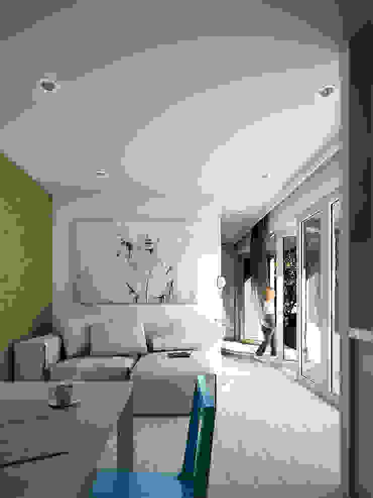 Moderne woonkamers van goodmood - Soluções de Habitação Modern