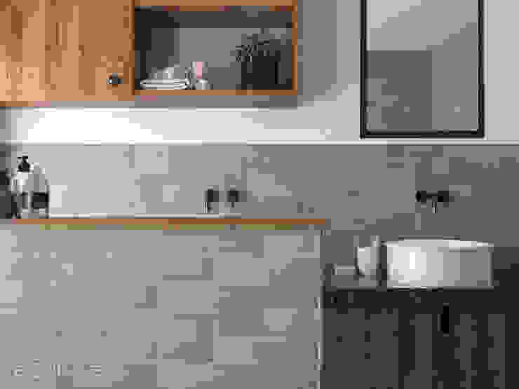 Equipe Ceramicas Classic style bathroom Ceramic Green