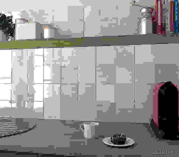 Equipe Ceramicas Mediterranean style kitchen Ceramic Beige