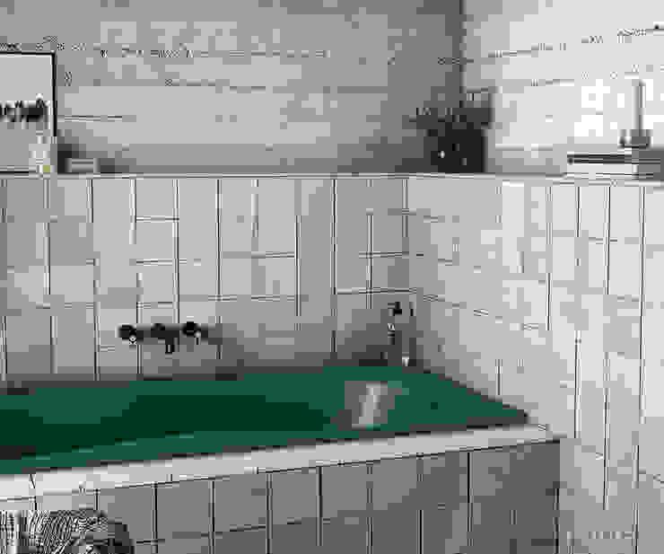 Phòng tắm phong cách Địa Trung Hải bởi Equipe Ceramicas Địa Trung Hải gốm sứ