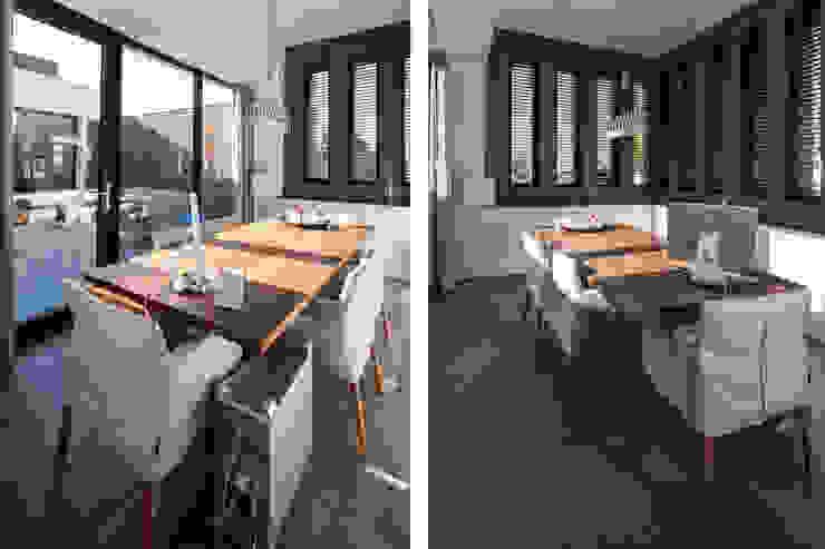 Patiowoning Tilburg Moderne eetkamers van Marc Melissen Architect Modern